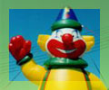 advertising inflatables - Giant Clown inflatable
